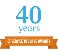40 years of service to our community