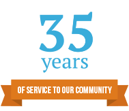 35 Years of Service to Our Community