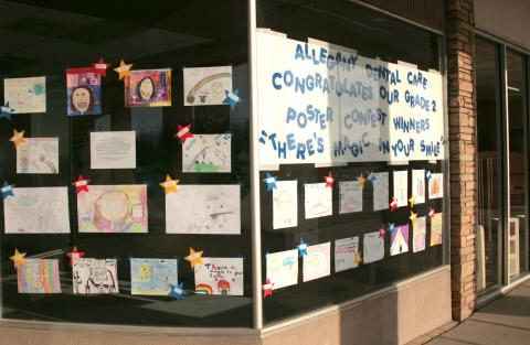 Our Annual Poster Contest was a big hit for young artists.